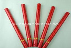 Roter biodegradierbarer Confetti und Popper für Parteien