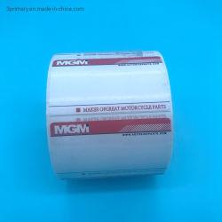 Autoadesivo di carta adesivo impaccante del Thermal del contrassegno di stampa dell'autoadesivo/contrassegno del supermercato