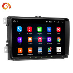 Universal 2DIN 9pouce Android 8.1 support autoradio pour VW Mirrorlink Bluetooth GPS AM/FM