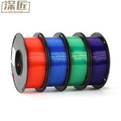 1.75mm 1kg 스풀 3D 펜 필라멘트 PETG 아BS PLA 3D 인쇄 기계 소모품
