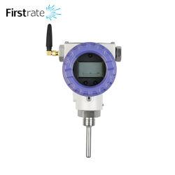 FST100-6102 wireless PT1000 PT100 sauna exterior de gases com sonda de temperatura do sensor do monitor