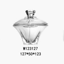 Glas van de Doos van het Suikergoed van de Kruik van de Suiker van het Glas van het Kristal van het Ontwerp van het Glas van de gift het Nieuwe Decoratieve Elegante voor het Huwelijk van de Partij (W123127)