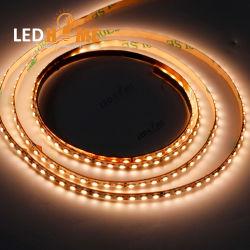 Super pequeño 3mm 240 LEDs por metro IP20 DC24V 3000K de temperatura de color tira de LED Flexible Flex LED DE TIRA la cuerda de tamaño pequeño tubo de neón y perfil de aluminio