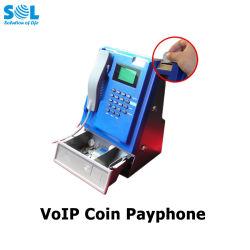 VoIP Tischplattenkarten-drahtloses Telefon G-/Mmünztelefon der münzen-Produkt-SIM