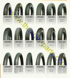 De Rubber/Butyl Buis van de aard/Banden Tubed/Tubless voor Motorfietsen/Autoped/Driewielers
