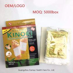 Kinokiの清潔になるパッドの自然な原料の中国の草のフィートパッチ