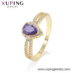 女性のための花嫁の宝石類のリングと結婚する最近贅沢な指