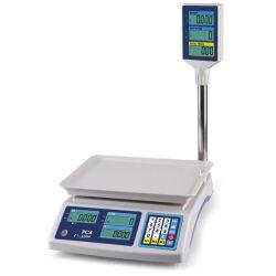 PC4 Informática Precio de venta al por menor Escala Escala para tiendas de comestibles y mercado de granjeros con Pole