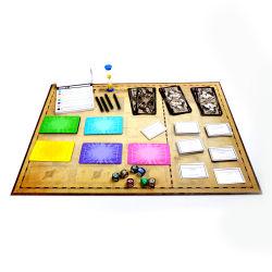 Cuadro de la junta de plegado de papel juego de mesa plegable de alta calidad de impresión de tarjetas personalizadas Juego de mesa