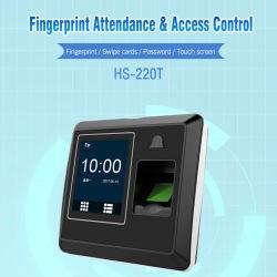 Bureau étudiant de l'École de NFC de temps avec le SDK de présence d'empreintes digitales biométriques (HS-220T)