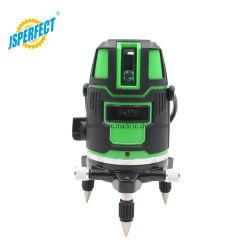 Зеленый 360 поворот по вертикали Автоматический лазерный уровень электронных