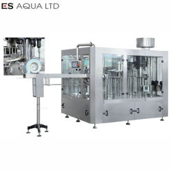 Het mineraalwater/het Sprankelende/Zachte/Plastiek/het Glas van de Drank van het Sap/kunnen het Bottelen/van de Was van de Fles 5L/10L het Vullen het Afdekken de Machine van de Verpakking van de Etikettering