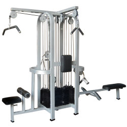 Fitness Equipment가 다중 Fitness에 의하여 Equipment Jungle Machine 4 겹쳐 쌓인다