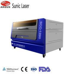2021 새로운 판매 의류 의류 스포츠웨어 로고 라벨 인쇄 반사 열 전달 비닐 레이저 절단 CO2 레이저 절단 각인 깨끗한 결과를 제공하는 기계