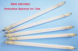 Lâmpada de 600 W de alta saída do tubo de arco para iluminação de horticultura