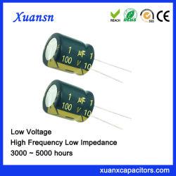1UF 100V 오디오를 위한 알루미늄 전해질 축전기