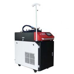 Acciaio al carbonio tenuto in mano dell'acciaio inossidabile della saldatura della saldatrice del laser della fibra