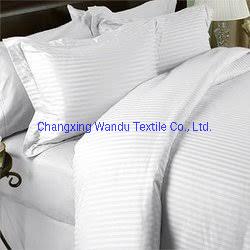 Polyester velours de pêche de la literie, le textile maison, hôtel Textiles
