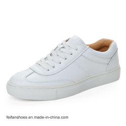 Form-Frauen-beiläufige Schuh-Komfort-Turnschuh bereift Rochen-lederne Schuhe (Srx0907-7)