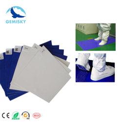 Contrôle de la contamination entrée jetables pour salle blanche PE nettoyage collant mat