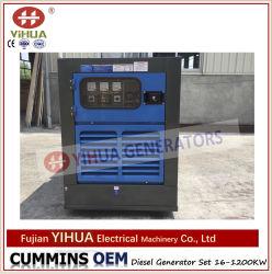 Электрический портативный источник питания генератора Cummins бесшумный корпус дизельного двигателя