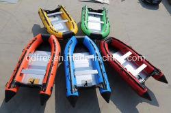 접히는 세륨 PVC 군 급료 스포츠 배, 로잉 배, 요트