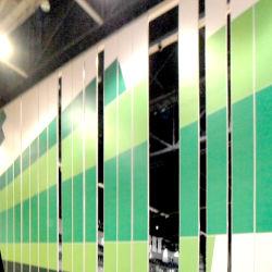 Prezzo operabile acustico della parete del muro divisorio insonorizzato mobile utilizzato del muro divisorio