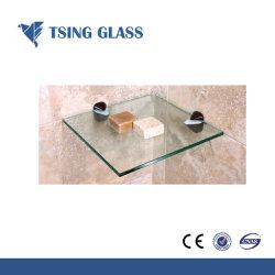 壁のコーナー/ワインのキャビネット/飾り戸棚/家具のための6/8/10/12mmの棚ガラス