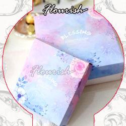 سعر صغير الحجم مخصص ورقة فن الطفو هدية مربع كعكة