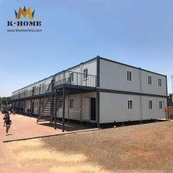 Aulas prefabricadas escuela temporal Casa contenedor portátil desmontable de África