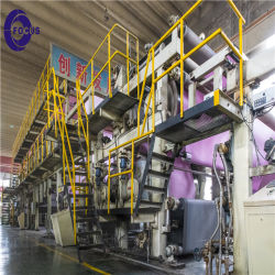 Girare la macchina di rivestimento di carta senza carbonio chiave dell'ncr di Papr
