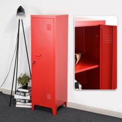 Houseinbox металлические шкафы для хранения файлов Office 3 двери шкафа корзины консоли органайзера подставки 3-в-1 (красный-соединений)