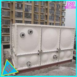 Serbatoi serrati sicurezza dell'acqua della vetroresina GRP di prezzi di fabbrica di plastica
