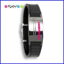 O germânio magnético de titânio potência de Iões de Silicone bracelete de energia