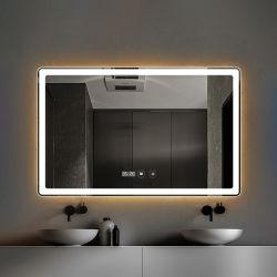 Specchio di vanità chiaro astuto di trucco della stanza da bagno di Multi-Funzioni LED