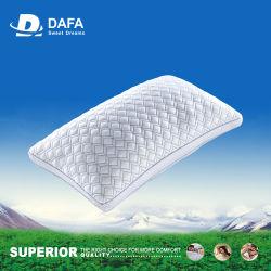Pato de encargo 100% de la tela de la prueba del algodón del blanco del hotel de los productos promocionales abajo