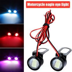 Орлиный глаз светодиодный индикатор мотоциклов яркий голубой лед, яркие цвета