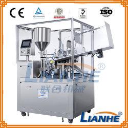 Remplissage automatique de la machine pour d'étanchéité du tube de pommade/crème/dentifrice