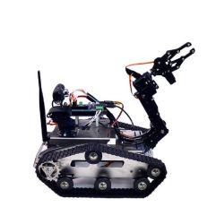 Tanque de Robô inteligente evitando obstáculos compatíveis bricolage Plataforma Arduino Vídeo WiFi carro do robô