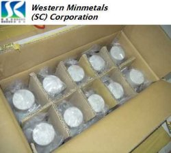 99.999%-99.99999% antimonio de alta pureza en Western Minmetals Corporation (SC).