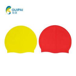 卸し売り防水シリコーンの水泳の帽子の屋外のウォーター・スポーツの水泳帽