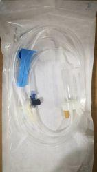 Infusión desechables con el tubo de extensión