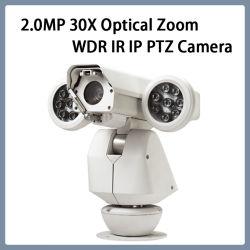 كاميرا WDR PTZ IP67 بدقة 2.0MP 30 ضعفًا في التكبير/التصغير عبر الشبكة IP بمعدل 30 ضعفًا
