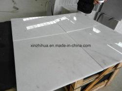 Chiva 층계 또는 Windows 문턱 싱크대 또는 벽난로 또는 샘을%s 닦는 백색 대리석 마루 도와