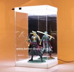 Custom acrylique boîte à chaussures éclairage à LED