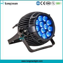 12ПК 14W Rgbaw+LED PAR Лампа УФ для использования вне помещений