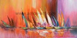 Estendeu Vela Galpão de Arte Moderna pinturas a óleo