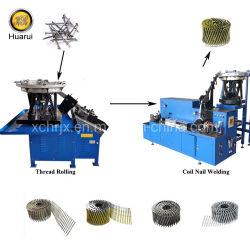 機械に自動コイルの釘の照合機機械をする高速低雑音ねじコイルの釘