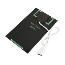 5V 5W Cargador Panel Solar celda solar portátil cargador de teléfono de escalada al aire libre para Smartphone
