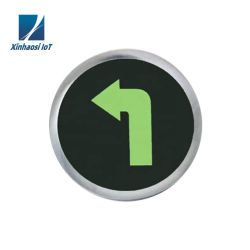 Recargable Verde Señal de salida de la luz de emergencia LED lámpara de emergencia